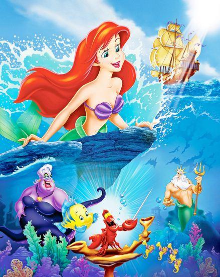Como se llama La Sirenita Ariel