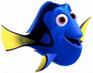 Como se llama el pez azul de Buscando a Nemo Dory