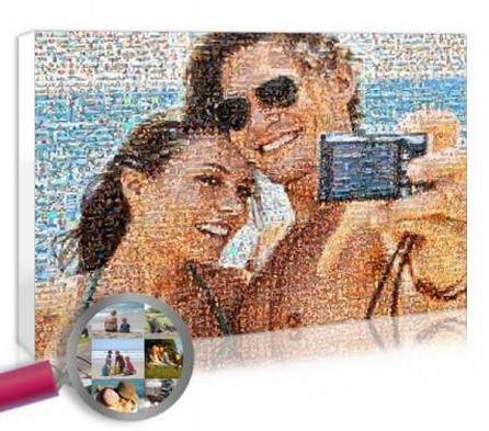 Como se llama una foto hecha con muchas fotos foto mosaico