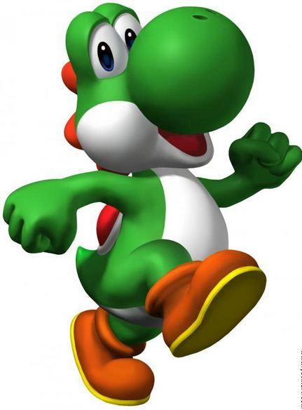 Como se llama el dinosaurio de Mario Bros Yoshi
