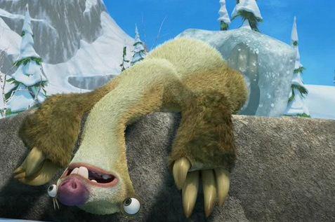 Como se llama el perezoso de la película La era del hielo Sid