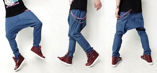 Como se llaman los pantalones de hip hop harem