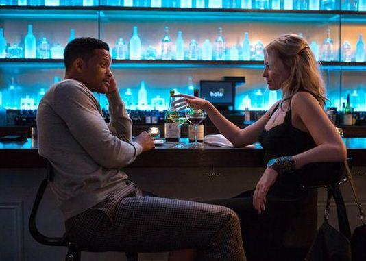 Protagonistas de la película Focus Will Smith y Margot Robbie
