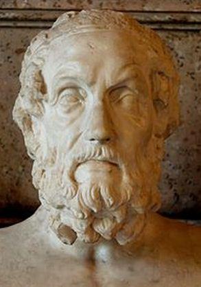 Como se llama el autor de la Ilíada y la Odisea Homero