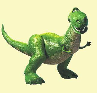Como se llama el dinosaurio de Toy Story Rex