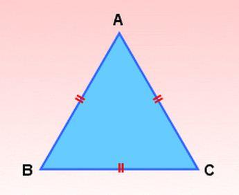 Como se llama el triángulo de 3 lados iguales
