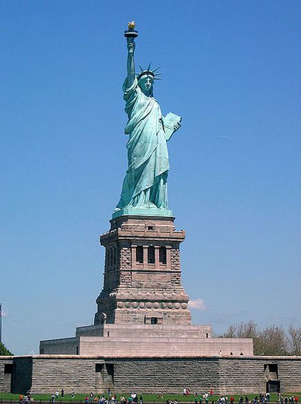 Como se llama la Estatua de la Libertad