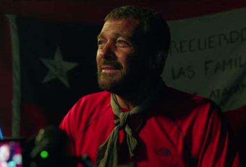 Como se llama la película de Antonio Banderas en la que personifica a un minero