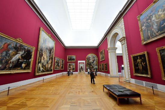 Como se llama un conjunto de cuadros Pinacoteca