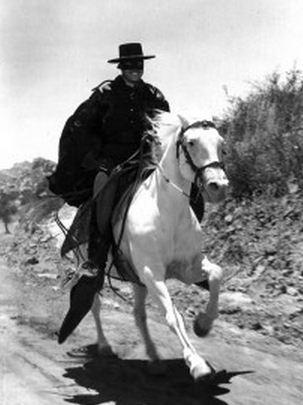 Como se llaman los caballos del Zorro Fantasma
