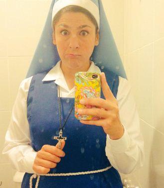 Sor Carmela de la novela Esperanza Mía
