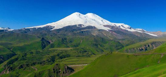 Como se llama la montaña más alta de Europa  Monte Elbrús