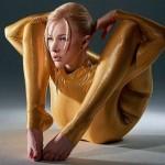 Como se llama la mujer más flexible del mundo actualmente