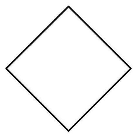 Como se llaman las figuras de 4 lados rombo