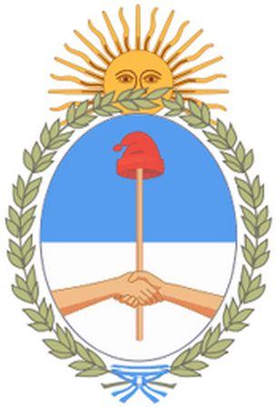 Como se llaman las partes del Escudo Nacional Argentino