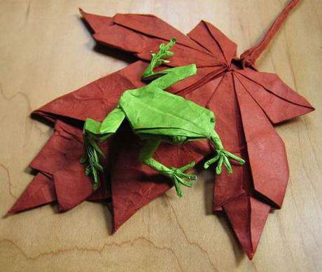 Como se llama el arte de hacer figuras con papel