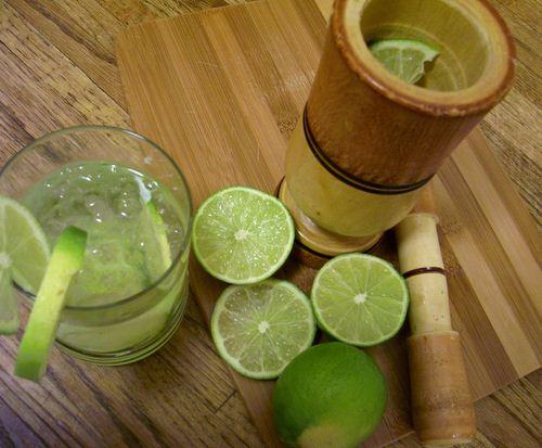 Como se llama el limon para hacer caipirinha