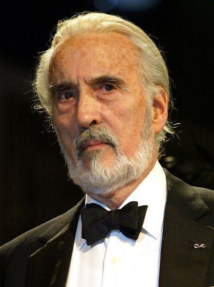Como se llamaba el actor que hacía de Saruman en El señor de los anillos