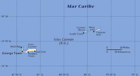 Como se llaman las Islas Caimán