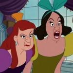 Como se llaman las hermanastras de La Cenicienta