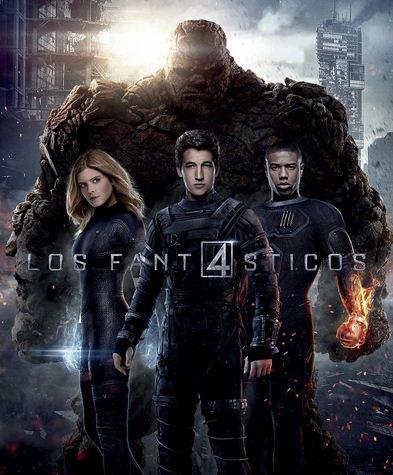 Como se llaman los actores de la película Los 4 Fantásticos 2015