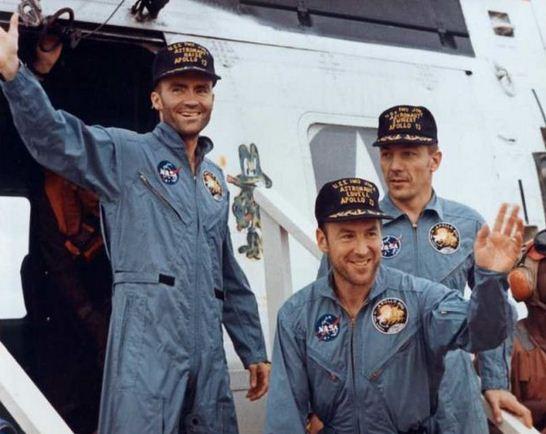 Como se llaman los astronautas del Apolo 13