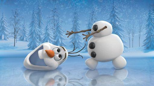 Como se llama el muñeco de nieve de Frozen Olaf