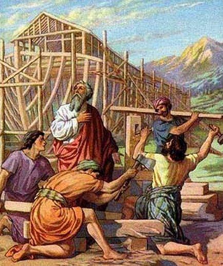 Como se llamaban los hijos de Noe