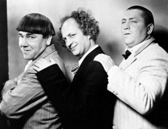 Como se llaman los actores de Los Tres Chiflados