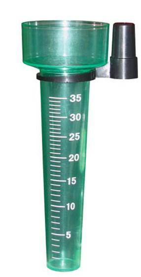 Como se llama el instrumento para medir la lluvia pluviómetro