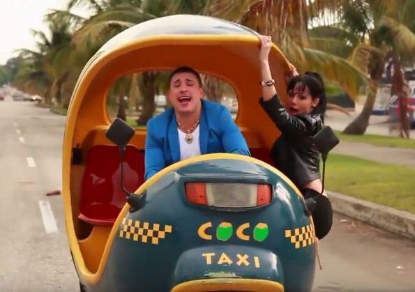 Como se llama la canción del Taxi