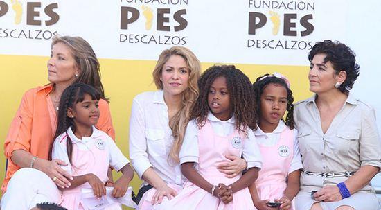 Como se llama la fundacion de Shakira en Colombia