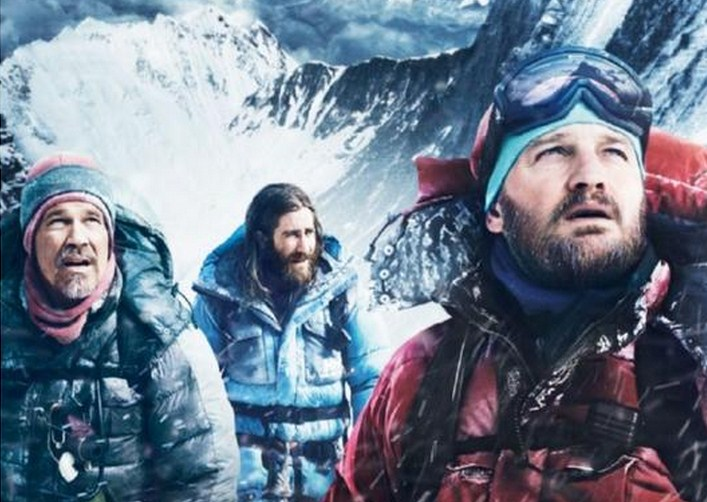 Como se llaman los actores de Everest