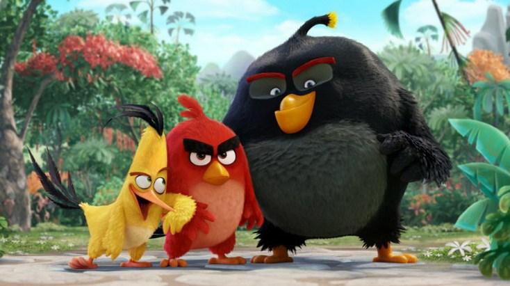 Como se llaman los actores de la película Angry Birds
