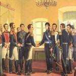 Como se llamo el primer gobierno patrio