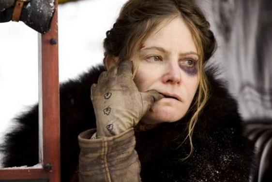 Como se llaman las actrices de Los 8 más odiados