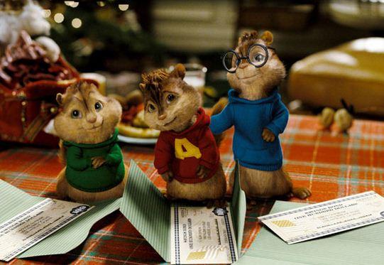 Como se llaman las ardillas de Alvin y las ardillas