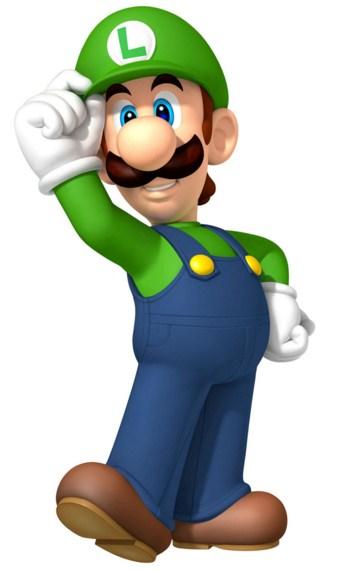 Como se llama el hermano menor de Mario Bros