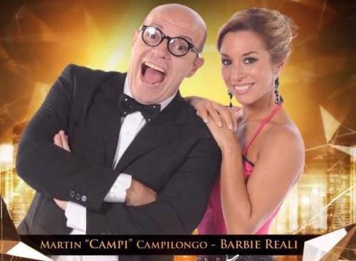 Como se llama la bailarina de Campi