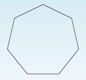 Como se llama un poligono de siete lados