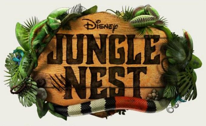 Como se llaman los actores y personajes de Jungle Nest