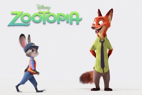 Como se llaman los personajes de Zootopia