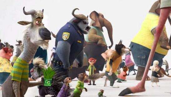 Todos los personajes de Zootopia