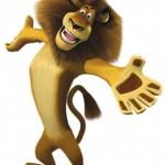 Como se llama el leon de Madagascar