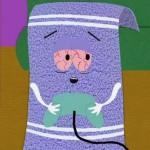 Como se llama la toalla de South Park