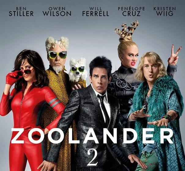 Como se llaman los actores de Zoolander 2