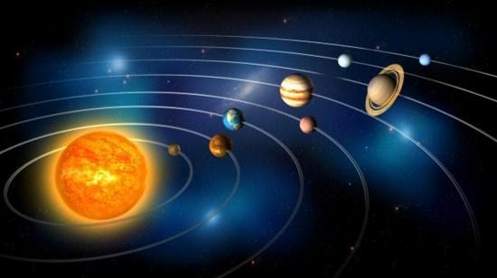 Como se llaman los caminos que recorren los planetas