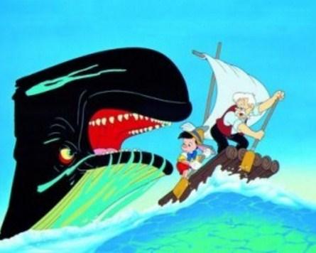 Como se llama la ballena de Pinocho
