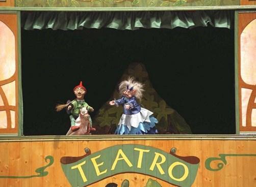 Como se llama el teatro de titeres