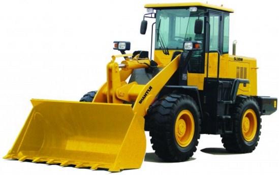 Como se llama el tractor con pala